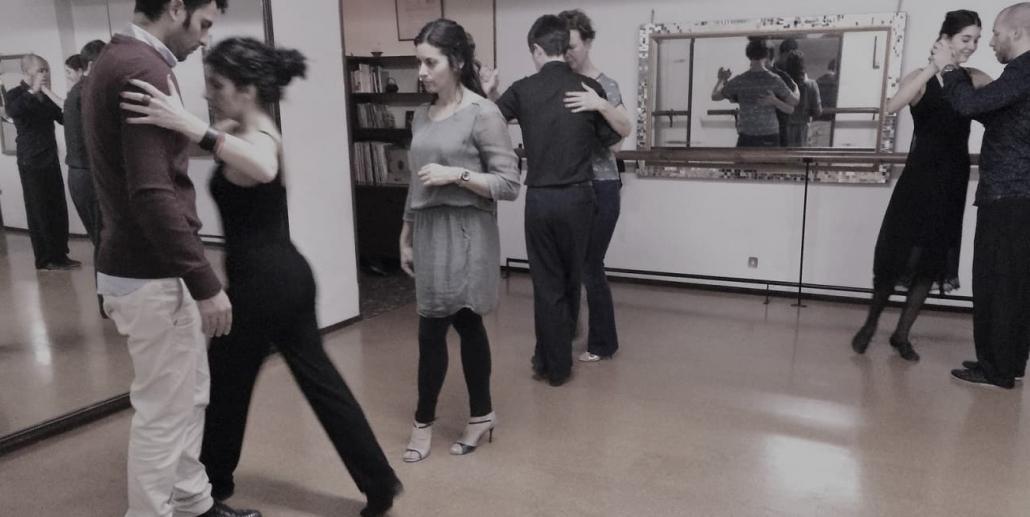 Tango classes in Barcelona with Francesca Vaccari
